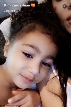 Up early: Kim Kardashian West's three-year-old daughter North was in the mood for cosplay first thing Sunday morning