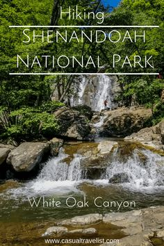 With waterfalls and secret swimming holes the White Oak Canyon Trail is one of the best hikes in Shenandoah National Park. Usa Roadtrip, Appalachian Trail, Usa Travel Guide, Travel Usa, Travel Tips, Travel Goals, Canada Travel, Travel Advice, Death Valley