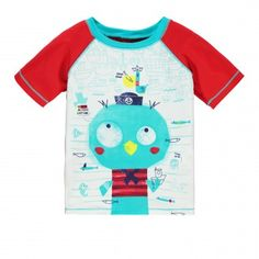 """Penguin Thematic """"Rashguard Type"""" / T-shirt « de type rashguard » à thématique pingouin Souris Mini"""