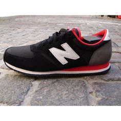 New Balance 420 black/red-I really love these
