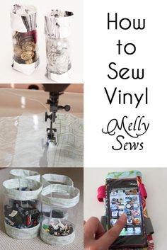 Sewing Techniques Couture Tips for Sewing Vinyl - Melly Sews. Used her tips and they really do work. Sewing vinyl is a breeze now. - Tips and tricks for sewing vinyl. Sewing Basics, Sewing Hacks, Sewing Tutorials, Sewing Crafts, Sewing Patterns, Sewing Tips, Skirt Patterns, Dress Tutorials, Coat Patterns