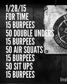 At-home WOD