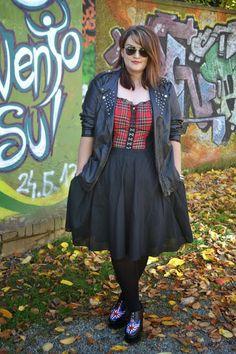 Curvy Claudia: Herbst-Trend: Tartan