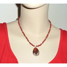 Every Morning Design Sterling Silver Red Jasper Necklace | Overstock.com Shopping - The Best Prices on Necklaces
