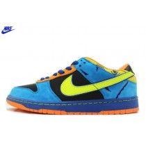 check out 2585e c1cd8 Femme Nike à vendre Dunk Low Pro SB Chaussures Noir Neon Jaune 304292-073  Vente-20