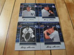 Billy Martin Graig Nettles #2008 Upper Deck #Yankee Stadium Legacy 4 Card Lot | eBay #AmericanLeague #majorleaguebaseball