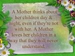 A Mother Thinks About Her Childern