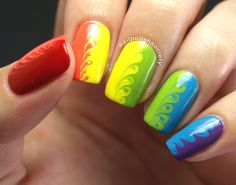 Nail Polish Society: OMD2 Challenge Day 11- Rainbow