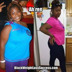 Ah'ree lost 62 pounds! Read her story