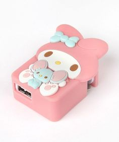 Cute! Cute! Cute!  Lovely My Melody USB Wall Charger for iPhones, iPads and anything else with a USB charge point
