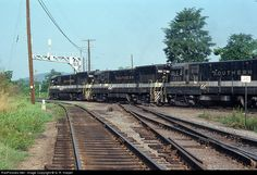 RailPictures.Net Photo: SOU 3923 Southern Railway GE U23B at Charlottesville, Virginia by G. R. Harper