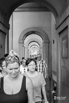 Ponte Vecchio side walk #gabyawadphotography #streetphotography