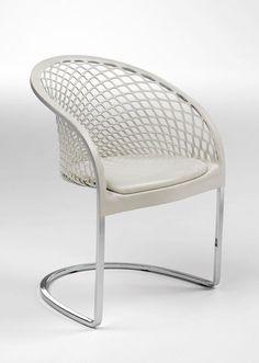 Contemporary Sled Base Armchair - ARETE'