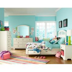 LC Kids Park City Storage Bedroom Collection