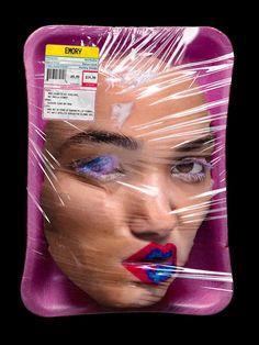 Photography Themes, Fresh Meat, Creepy Art, Creative Portraits, Surreal Art, Oeuvre D'art, Collage Art, Art Sketches, New Art
