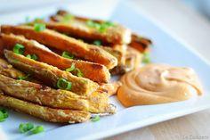 Easy & Crisp sweet potato fries