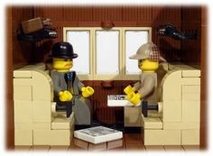 The Adventures of Sherlock Holmes, Re-imagined in LEGOs - I Hear of Sherlock Everywhere