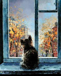 http://catsfineart.com/assets/images/cats/CatInWindow/db_Alexander_Gunin_Cat_in_the_Window1.jpg