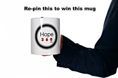 Re-pin this to win this mug.  The lucky re-piner that is chosen will be notified on September 30, 2013