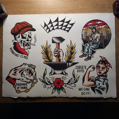 Working Class - Traditional Tattoo