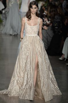 Love this but--not as bridal wear. ELIE SAAB | The Best Bridal Inspiration From Couture Week  - ELLE.com