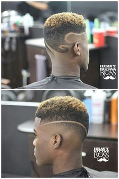 Awesome Curly On Top Haircut For African American Men Black Men Haircuts, Black Men Hairstyles, Cool Hairstyles, Men's Haircuts, Afro Fade, Natural Hair Styles, Short Hair Styles, Barbers Cut, Barbershop Design