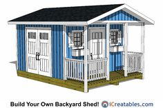 9 Best 12x20 Shed Plans Images On Pinterest 12x20 Shed Plans