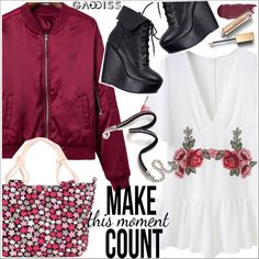 How To Wear Gamiss Outfit Idea 2017 - Fashion Trends Ready To Wear For Plus Size, Curvy Women Over 20, 30, 40, 50