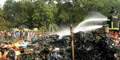 গাজীপুরের কালীগঞ্জে অবৈধ একটি পলিথিন কারখানায় ভয়াবহ অগ্নিকান্ড, ১০জন আহত