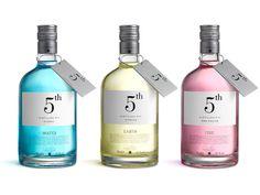 Coloured Liquid in Bottles