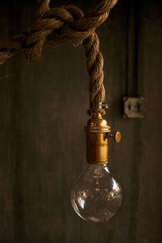 Hanging Lamp Chandelier Lighting Hanging Light by LukeLampCo