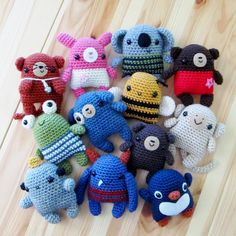 Little Amigurumi Cuties: 11 friends to crochet!