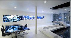 Resultado de imagen de decoracion futurista interiores