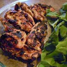 Marinated Ranch Broiled Chicken Recipe - Allrecipes.com - Can be broiled or grilled.