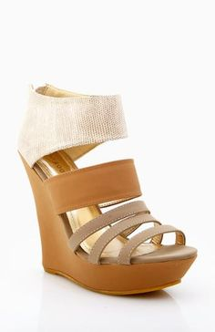Banded Strap Wedges