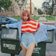 Uploaded by Putri. Find images and videos about girl, fashion and model on We Heart It - the app to get lost in what you love. Female Character Inspiration, Style Inspiration, Korean Girl, Asian Girl, Kawaii, Stylenanda, Ulzzang Girl, Asian Fashion, Fashion Outfits
