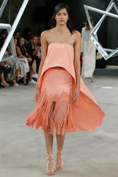 Sally LaPointe Spring 2017 Ready-to-Wear Fashion Show