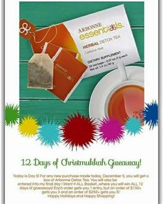 12 days of Christmukkah Arbonne style #Arbonne #vegan #glutenfree #nonGMO #cosmetics #makeup #holidayseason #12daysofchristmas