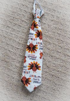 Thanksgiving Toddler Tie  Turkey  Gobble till by MommysGoingToSnap, $12.00 #holidayentertaining #thanksgiving #givingthanks #november #holidays #thanksgivingideas #thanksgivingcrafts #thankful #thanks #thanksgivingrecipes www.gmichaelsalon... #diy #crafting #recipes #forthehome #holidaydecorating #holidaydecor #harvest #autumn