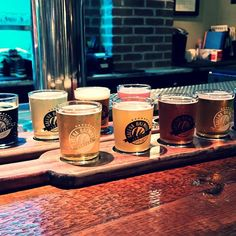 Enjoyed the house & season beers on a flight at Galena Brewing Company this afternoon! #gobigorgohome #galena #galenabrewingcompany #untapped #illinois #illinoiscraftbeer #craftbrew #beerflights