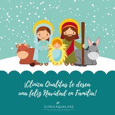 Clínica Qualitas te desea una Feliz Navidad en Familia! #felicitación #Navidad