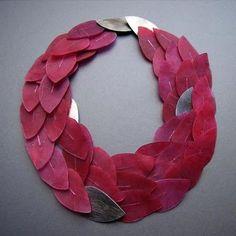 yoko shimizu - paper necklace