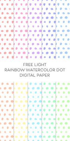 Such lovely FREE watercolor digital paper for you to use in a variety of ways for personal and commercial use!