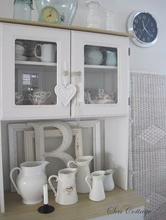 I think this would be a nice contrast in the kitchen with the glass in the doors.