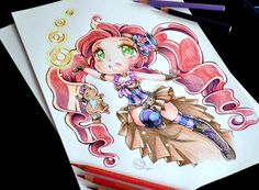 Steampunk Magical Girl by Lighane
