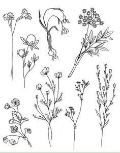 Tatuajes flores delicadas
