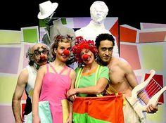 Teatro infantil. PTV Clowns (Valencia). Invisible. Marzo 2008