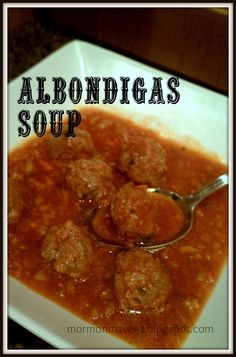 ... soups to try on Pinterest | Mexican Meatball Soup, Soups and Pozole