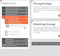 Our interactive Business Plan Writer has been designed to simplify the business planning process. Not only is this tool dynamic, allowing you to customize your plan, we've also provided tips & tricks and plenty of examples to guide you as you write. Price Strategy, Business Centre, Company Profile, Market Research, Sales And Marketing, Writing Services, Business Planning, Soho, Blogging