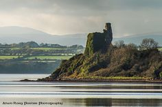 Inch Castle Inch Island  Donegal Ireland